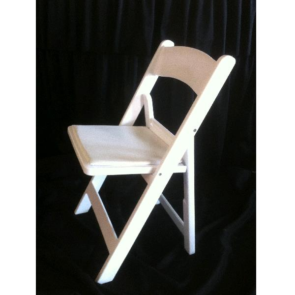 Where to find GARDEN CHAIR - WHITE RESIN in St. Petersburg