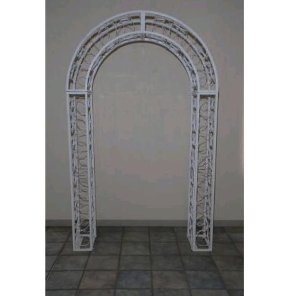 Where to find METAL SCROLL ARCH WHITE in St. Petersburg