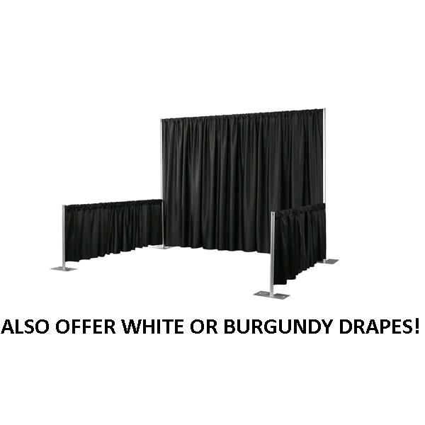 Where to find PIPE   DRAPE 3 TALL INSTALLED  Per FT in St. Petersburg