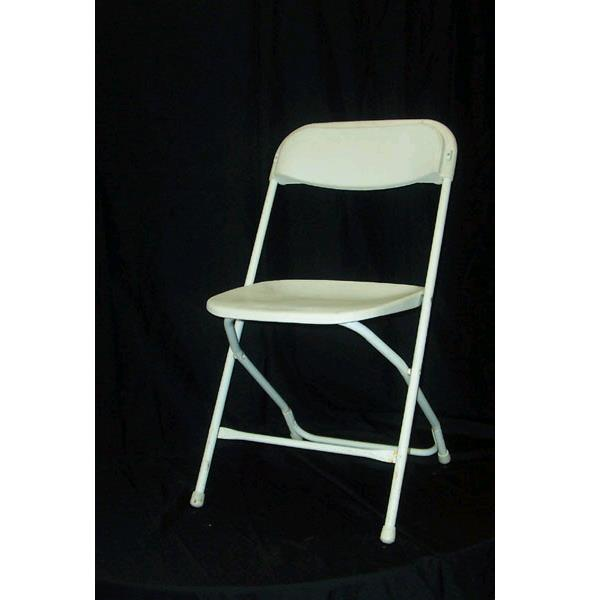 Where to find FOLDING CHAIR- WHITE in St. Petersburg