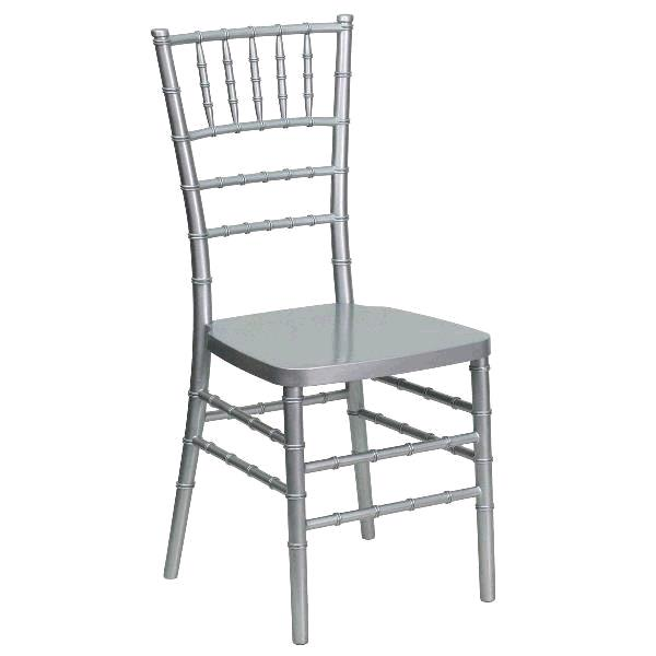 Where to find CHIAVARI BALLROOM CHAIR- SILVER RESIN in St. Petersburg