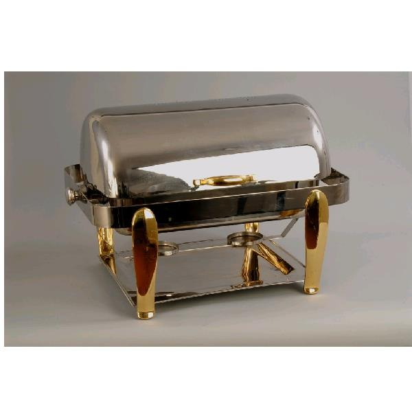 Where to find CHAFER- SS 8QT BRASS ROLL TOP in St. Petersburg