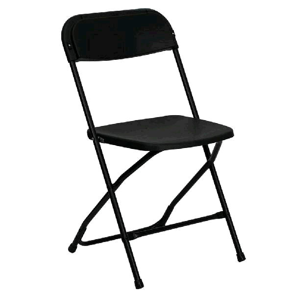 Where to find FOLDING CHAIR- BLACK in St. Petersburg