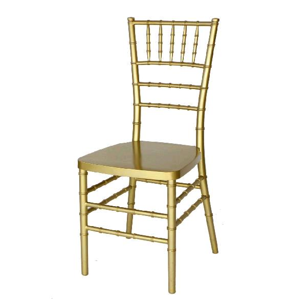 Where to find CHIAVARI BALLROOM CHAIR- GOLD RESIN in St. Petersburg
