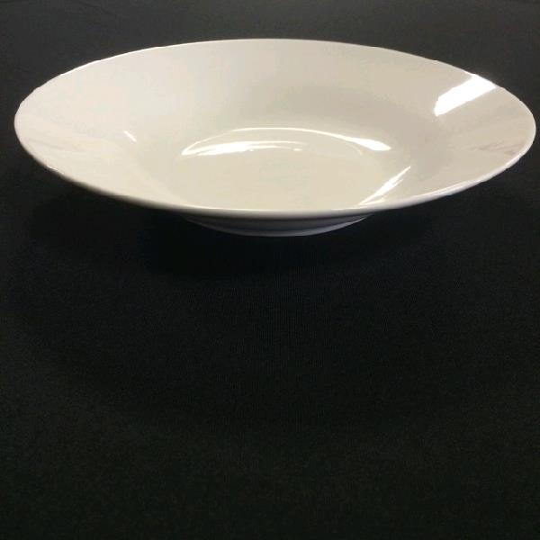 Where to find WHITE CHINA PLAIN FLAT SOUPBOWL 8 in St. Petersburg