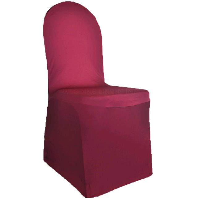 Where to find CHAIR COVER SPANDEX- BURGUNDY in St. Petersburg