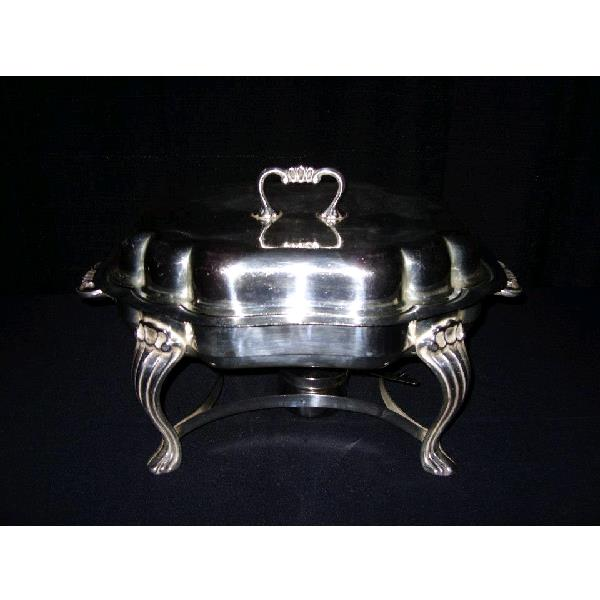 Where to find CHAFER- SILVER 5QT SERPENTINE in St. Petersburg