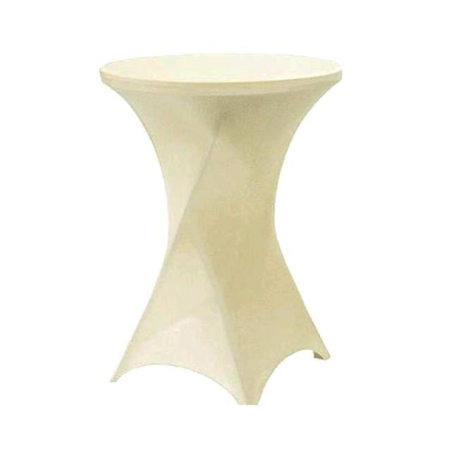 Where to find SPANDEX TABLE CLOTH- IVORY COCKTAIL in St. Petersburg