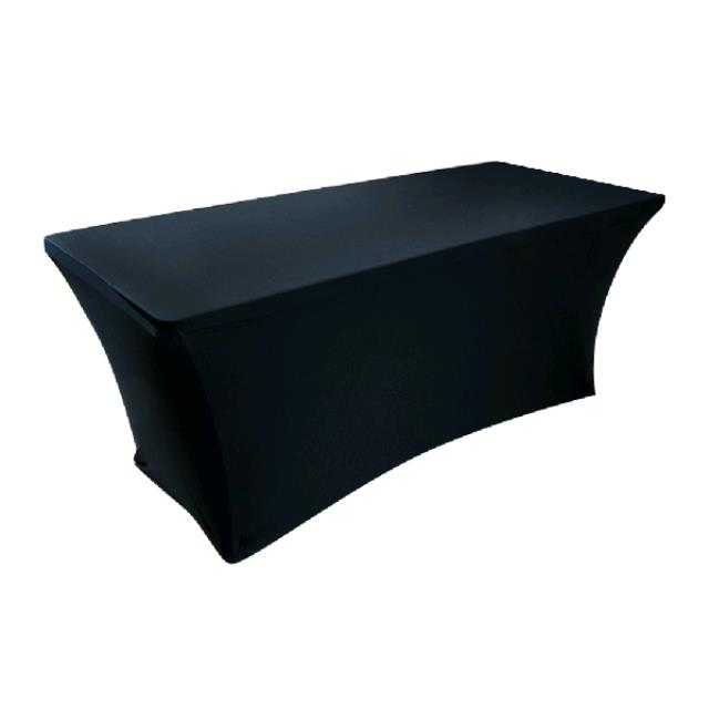 Where to find SPANDEX TABLE CLOTH- BLACK 90X132 in St. Petersburg