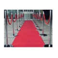 Rental store for 4 X6  WEDDING RED CARPETRUNNER in St. Petersburg FL