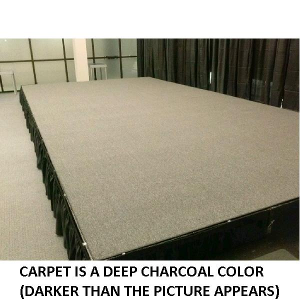 Where to find RISER CARPET- 8 X24  BLACK in St. Petersburg