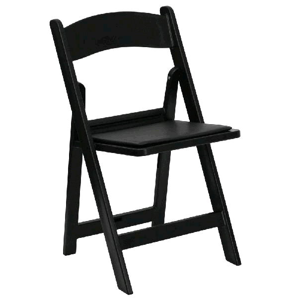 Where to find GARDEN CHAIR - BLACK RESIN in St. Petersburg
