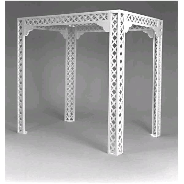 Where to find GAZEBO WHITE LATTICE 84 x84 in St. Petersburg