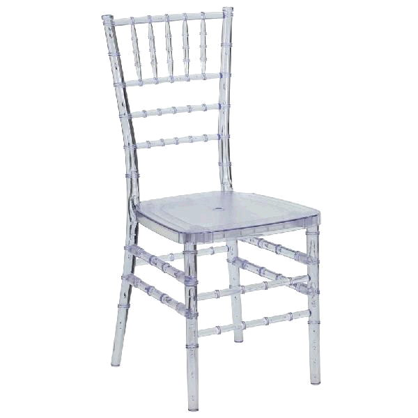 Where to find CHIAVARI BALLROOM CHAIR- CLEAR in St. Petersburg