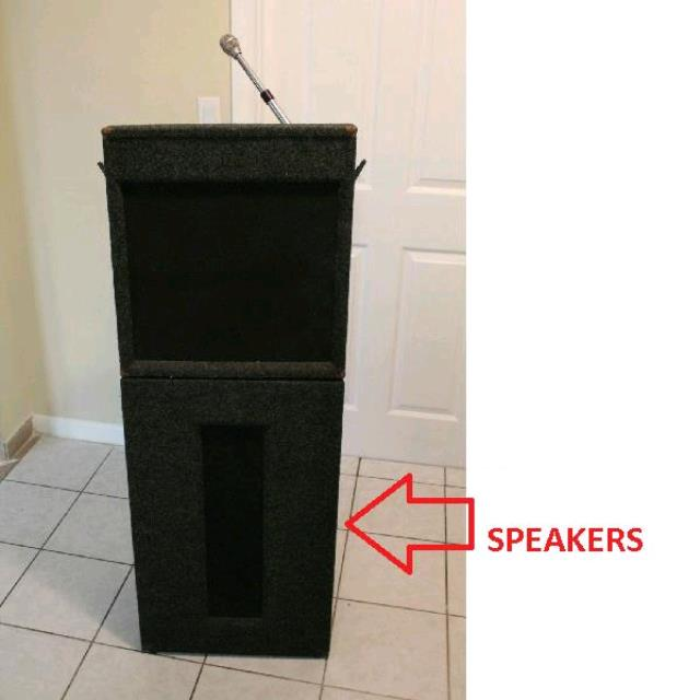 Where to find LECTURNETTE W  SPEAKERS   MIC in St. Petersburg