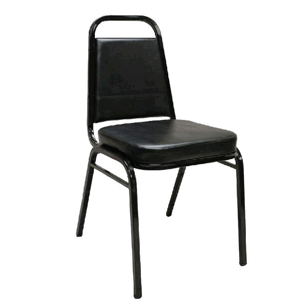 Where to find BANQUET STACKING CHAIR- BLACK in St. Petersburg